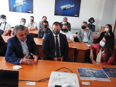 Среща с посланика на САЩ Херо Мустафа  - ПГМ - Пловдив