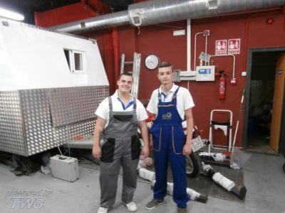 Ученици на стаж в Барселона - ПГМ - Пловдив