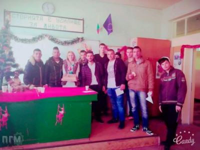 Коледно тържество - ПГМ - Пловдив
